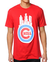 Local Legends Chill City Red Tee Shirt