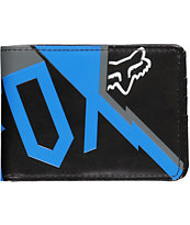 Fox Fall Out Black & Blue Bifold Wallet