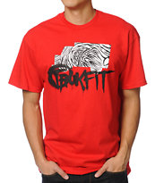 Trukfit Foundation Red Tee Shirt