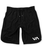 RVCA VA Black Sport Shorts