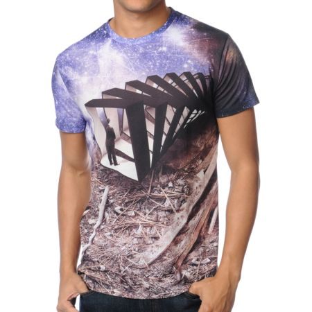 Imaginary Foundation Frame Of Reference Sublimated Tee Shirt