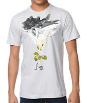 Imaginary Foundation Wheel Barrow Silver Tee Shirt