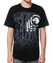 Metal Mulisha Wrapped Black Tee Shirt
