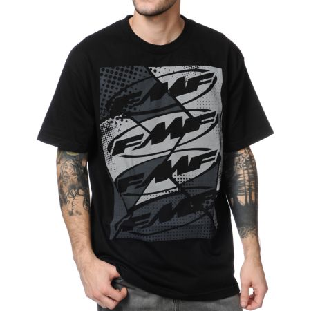 FMF Stained Black Tee Shirt