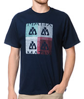 Matix Theory B Navy Blue Tee Shirt
