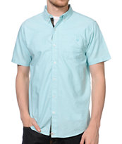 Dravus Mint Julep Short Sleeve Button Up Shirt