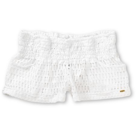 Roxy Clear Skies White Crochet Board Shorts