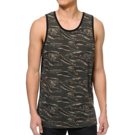Empyre Tiger Beat Camo Tank Top