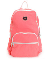 Roxy Going Coastal Neon Pink Backpack