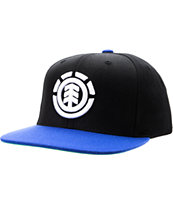 Element Knutsen Black & Blue Snapback Hat