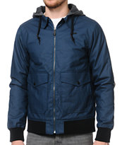 Empyre Warren Navy Full Zip Jacket