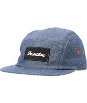 Primitive Signature Script Indigo Chambray 5 Panel Hat