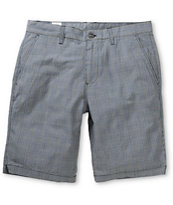 Volcom Fruckin Loco Grey Plaid Shorts