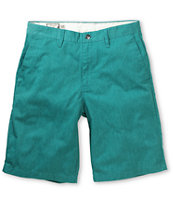 Volcom Frickin Too Teal Chino Shorts
