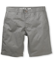RVCA Weekender Grey Slim Fit Chino Shorts