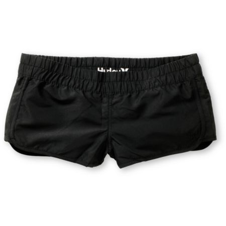 Hurley Girls Black Super Suede Beachrider Board Shorts