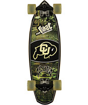 Lost Colorado University Buffaloes Rocket Mini 28 Cruiser Complete Skateboard