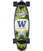 Lost Washington Huskies Rocket Mini 28 Cruiser Complete Skateboard