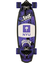 Lost New York University Bobcats Rocket Mini 28 Cruiser Complete Skateboard