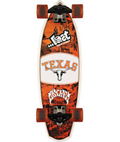 Lost Texas Longhorns Rocket Mini 28 Cruiser Complete Skateboard