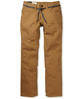 Empyre Skeletor Dark Khaki Denim Slim Jeans