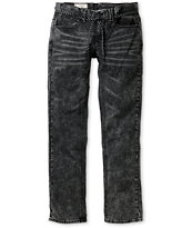Empyre Skeletor Acid Wash Slim Jeans