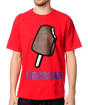ICECREAM Pop Bar Red Tee Shirt