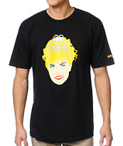 Enjoi Homecoming Queen Black Tee Shirt
