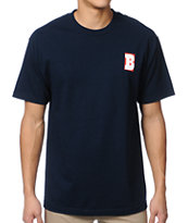 Baker Skateboards B Blue Tee Shirt