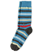 Stance Derby Blue Stripe Crew Socks