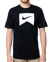 Nike SB Ribbon Icon Black Tee Shirt