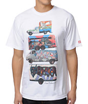 Element Mobile White Tee Shirt