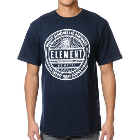 Element Sealed Navy Blue Tee Shirt
