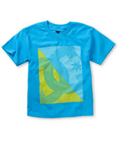 DC Boys Total Blue Tee Shirt