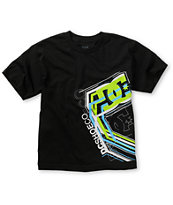 DC Boys Super Charge Black Tee Shirt