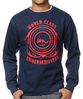 Imperial Motion World Class Navy Crew Neck Sweatshirt