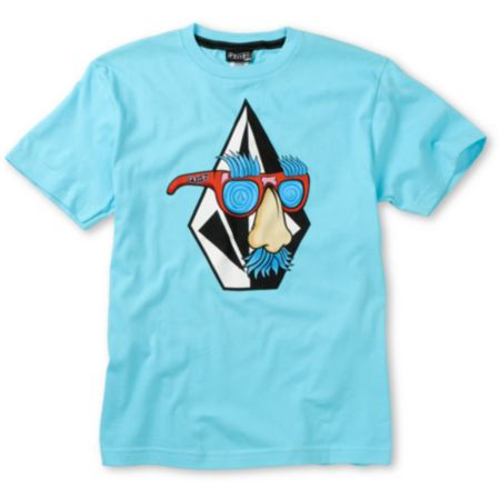 Volcom Boys Weirdo Blue Tee Shirt