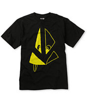 Volcom Boys Silly Stone Black Tee Shirt