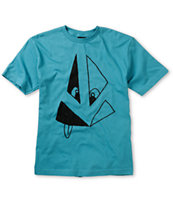 Volcom Boys Silly Stone Blue Tee Shirt