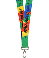 Keep A Breast Foundation I Love Boobies Tie Dye Lanyard