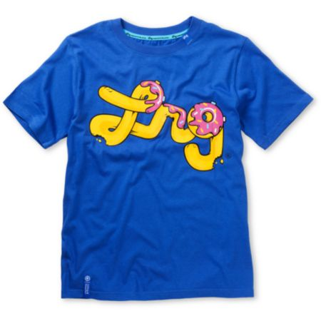 LRG Boys Deputy Delight Blue Tee Shirt