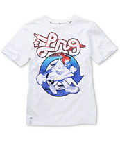 LRG Boys Hustle Trees White Tee Shirt