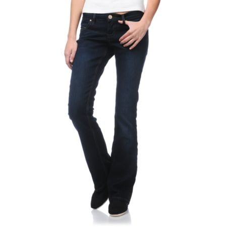 STS Blue Girls Dark Wash Bootcut Jeans