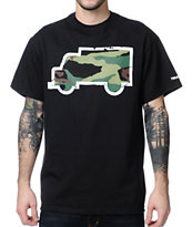 Trukfit Fill Up Camo Black Tee Shirt