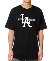 Vans Vulcanized Black Tee Shirt