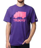 Trukfit Space Icon Purple Tee Shirt