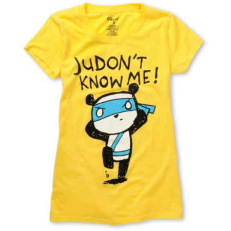Ralik Judont Know Me Yellow Tee Shirt