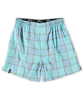 Empyre Diamond Watch Blue Plaid Boxers