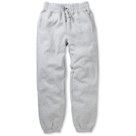 Trukfit Core Basic Heather Grey Fleece Sweatpants
