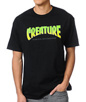Creature Bible Black Tee Shirt